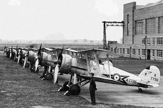 Dominion Representatives RAF Kenley 1937 2