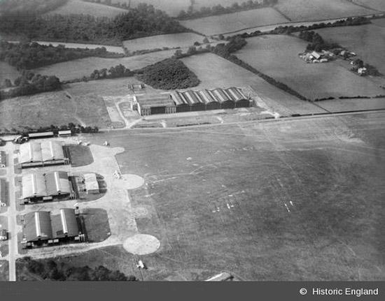 Kenley Revival Aerial 1926