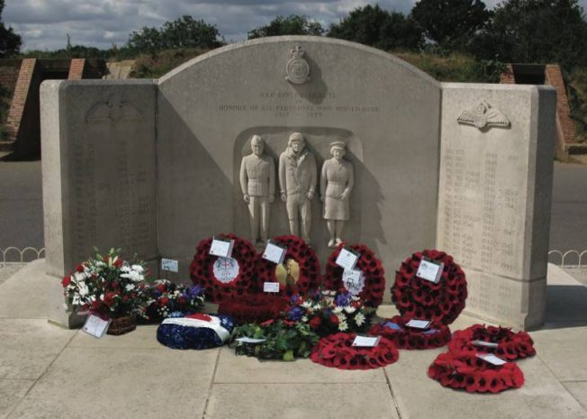 Image of RAF Kenley Tribute with commemorative wreaths