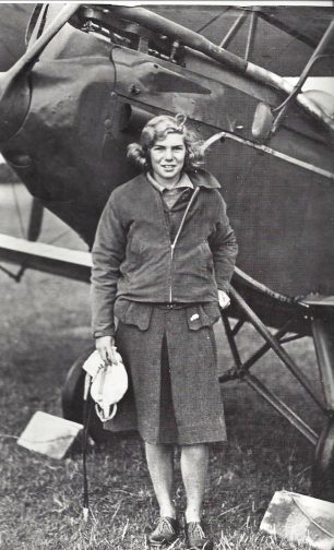 After her first solo in 1934