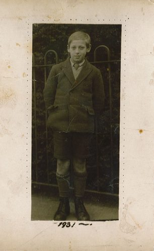 Young boy in 1931