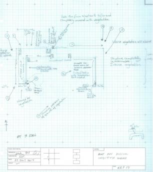 Sketch of blast pen