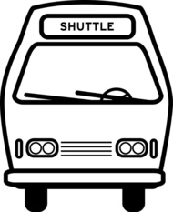 Image result for shuttle bus drawing