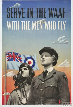 Serve in the WAAF with the Men Who Fly (Art.IWM PST 3096)