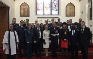 2017 Battle of Britain Sunday commemorations took place at St. Luke's Church, Whyteleafe