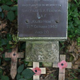 Sgt Fenemore memorial post