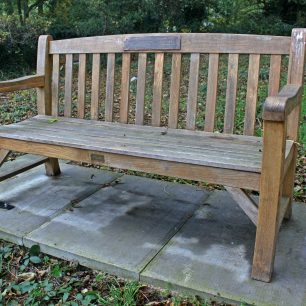 Sgt Fenemore memorial bench