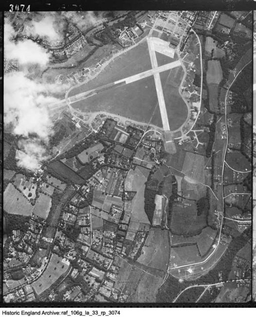 Historic England map 14 August 1944 3074