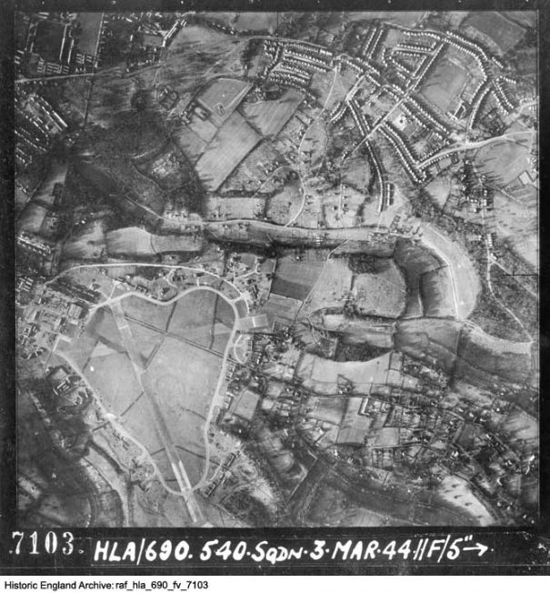 Historic England map 3 March 1944