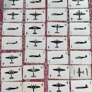Stan Ford's aircraft recognition playing cards. Air Ministry.  | Stan Ford