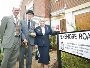Fenemore Road official opening | with permission from Stanley Fenemore's family