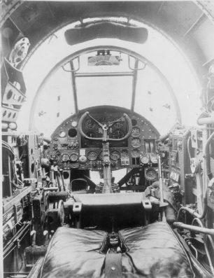Hampden Cockpit