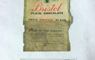 KRP0034 - Bristol Plain Chocolate Wrap