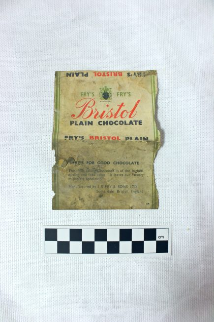 'Fry's' Bristol Plain Chocolate Wrap
