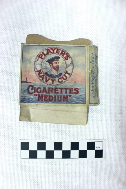 'Player's' Navy Cut Medium Cigarettes Box