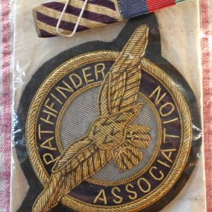 Ronald Bull's Pathfinder Association Badge