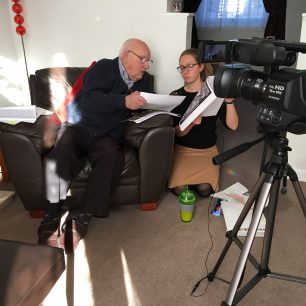 Interviewing Stan Ford about his role at RAF Kenley | Kenley Revival Project