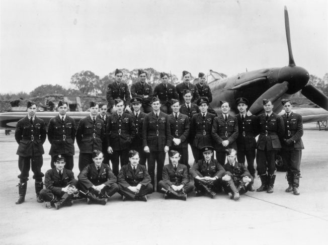 501 Squadron photo, Kenley 1940. Reproduced by permission of Surrey History Centre