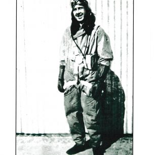 Stanley in Flying Suit   with permission from Stanley Fenemore's family