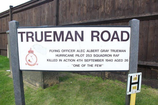 Trueman Road sign