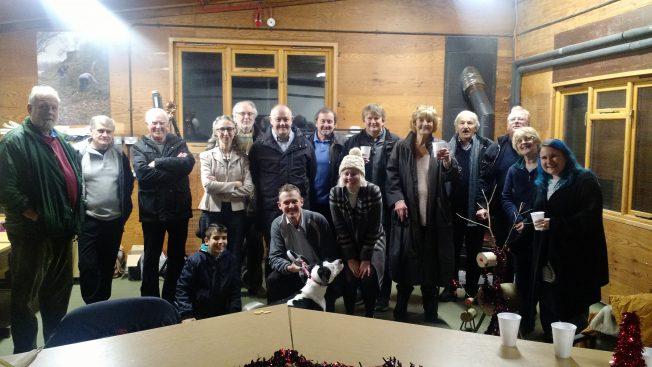 Group image of Kenley Revival Volunteers and Team