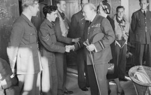 Sir Winston Churchill and RAF Kenley