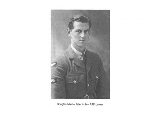 Douglas Martin, later in his RAF career | The Bourne Society