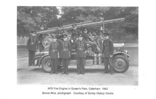 The Bourne Society Volume 72 - Wartime Fire Service in Caterham