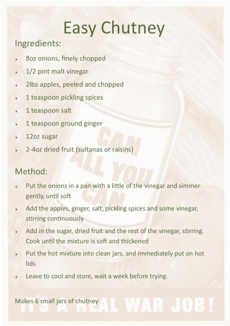 Easy Chutney Recipe