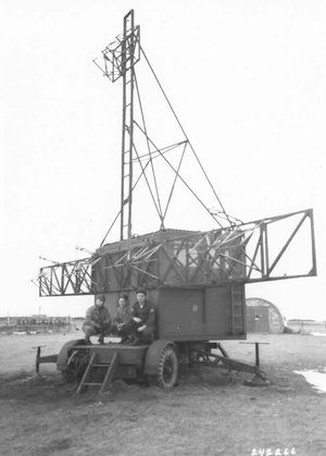 GL Mk. II transmitter van | British Army AA Command - Public domain