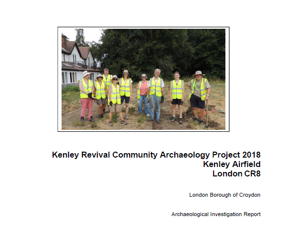 Community Archaeology Dig Report 2018