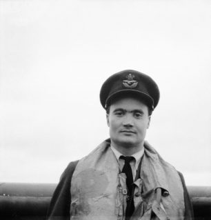 Wing Commander Charles Brian Kingcombe, Officer Commanding 92 Squadron RAF At Biggin Hill on 14 June 1942, immediately prior to his posting to lead the Kenley Wing | IWM Collection