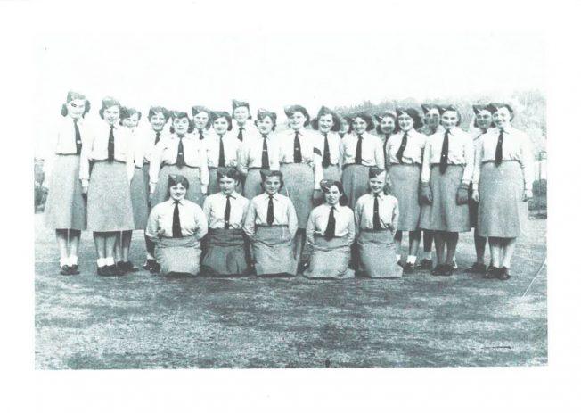 Photograph of Women's Junior Air Corp 'A' Flight (1941)   Bryan Prosper