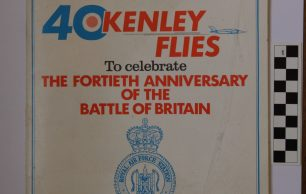 RAFA Battle of Britain 40th Anniversary Programme