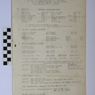 Daily Routine Orders for RAF Croydon & RAF Kenley, 23 July 1940. Page 1