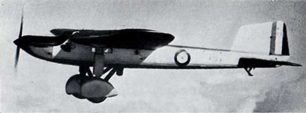 The Fairey Long Range Monoplane. | Air Ministry photo