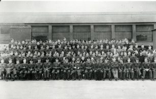 Winston Churchill's visit to No.615 squadron, Auxiliary Air Force, in 1939.