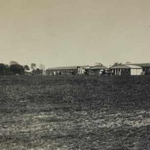 Kenley Airfield dated 16/5/21 on reverse. The day of Hirohito's visit.  | Roger Packham