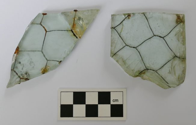 Reinforced Glass Fragments