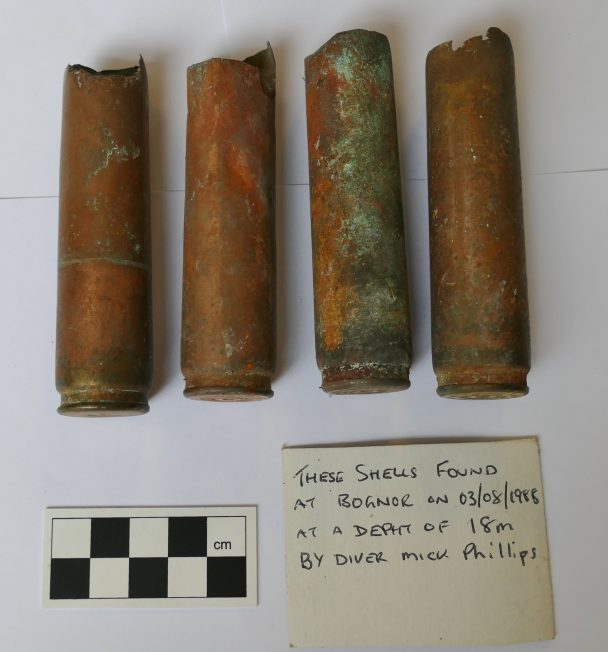 Spent 20mm Cartridge Cases