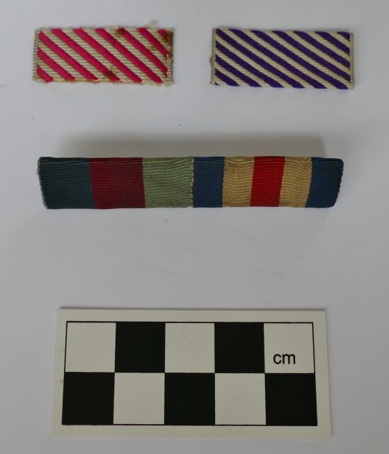 WWII Medal Ribbon Bars
