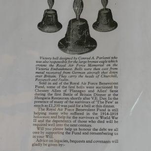 RAF Benevolent Fund Victory Bell