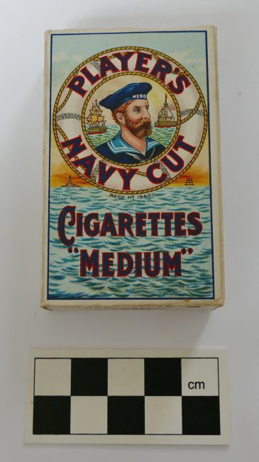 Players Cigarette Packet Replica