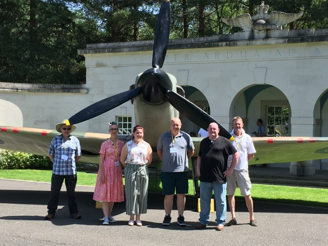 The Kenley Revival team at Brookwood on Saturday 29th June. | Linda Duffield