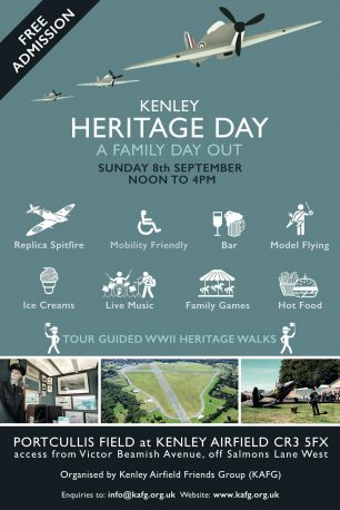 Kenley Airfield Friends Group Heritage Day | Kenley Airfield Friend's Group