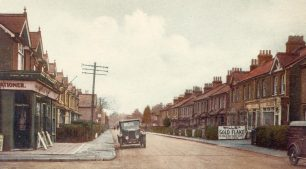 Chaldon Rd in the 1930's. | The Bourne Society.