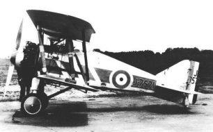 A 32 squadron Gloster Grebe.
