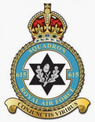 No.615 squadron badge
