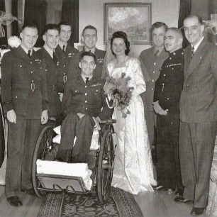 Bob and Marie's wedding with guests (see footnote for more information).  | Graham Bennett