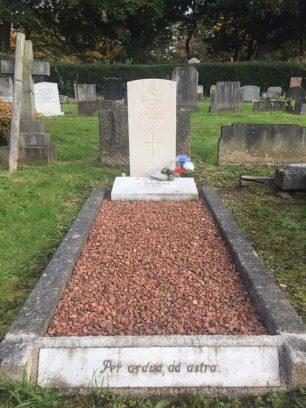 Sgt.Fenemore's grave. Allerton Cemetery, Liverpool.  | Gary Saxon